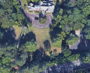 This is a Google Earth Photo of the house
